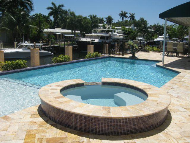traditional pool south Florida